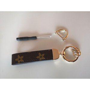 Accessories - new Fashion Keychain brown/gold